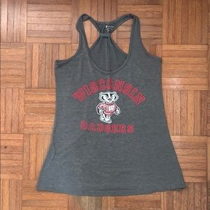 Wisconsin Badgers tank